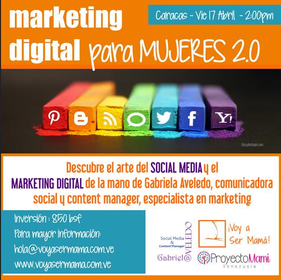 Taller de Marketing Digital para Mujeres