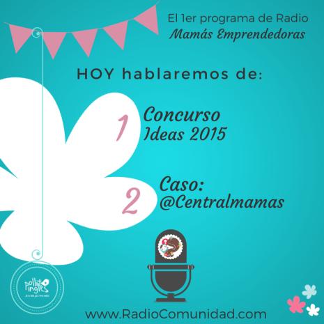 Programa de radio para mamás emprendedoras