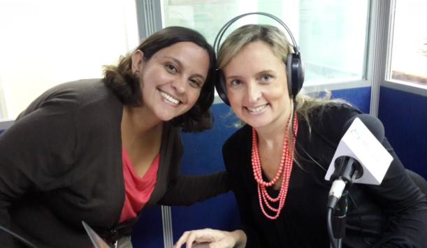 Vanessa Marcano en entrevista con Isabel Lara